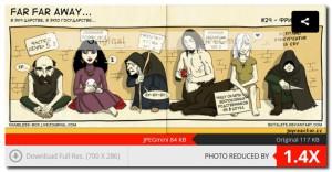 комиксы мини-min