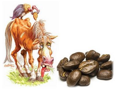 зависимость от кофеина кляча